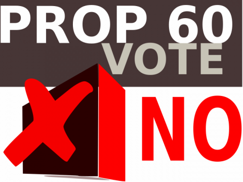 No on Prop 60